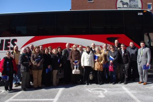 Local community and bus leaders joined United Way on a bus tour to experience it's work in Education first-hand.