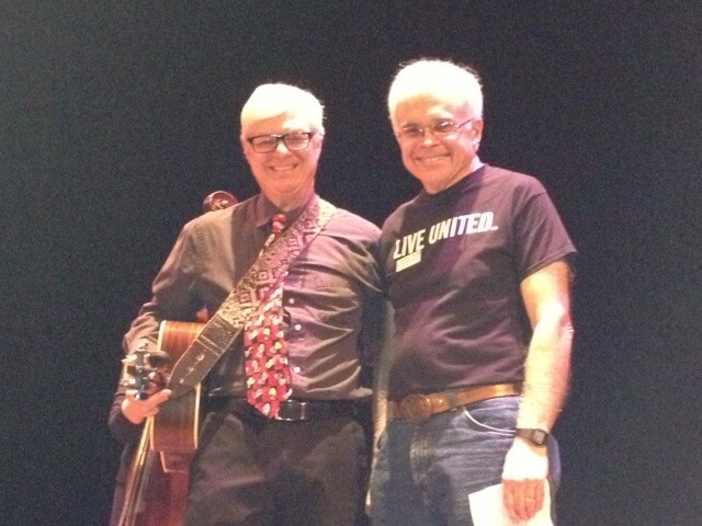 Dave Kinney at Bluegrass Benefit 2013