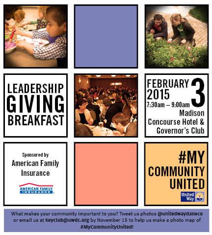 Leadership Giving Recognition Breakfast Header