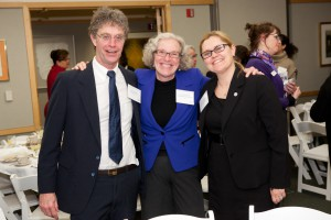 Executive Director of Porchlight Steve Schooler, President & CEO of United Way of Dane County, and Beverely Ebersold, Regional Coordinator of the U.S. Interagency Council on Homelessness enjoyed the evening.